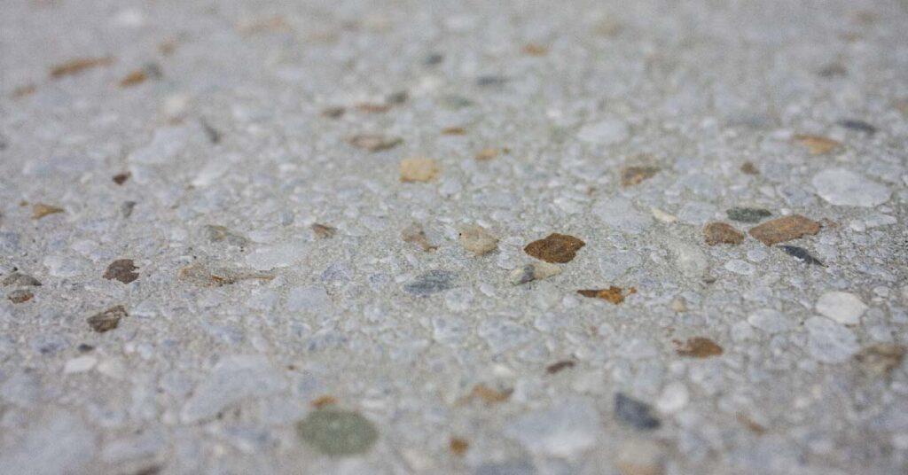 Baldosa de grano terrazo cepillada (brush) 30x30 cm