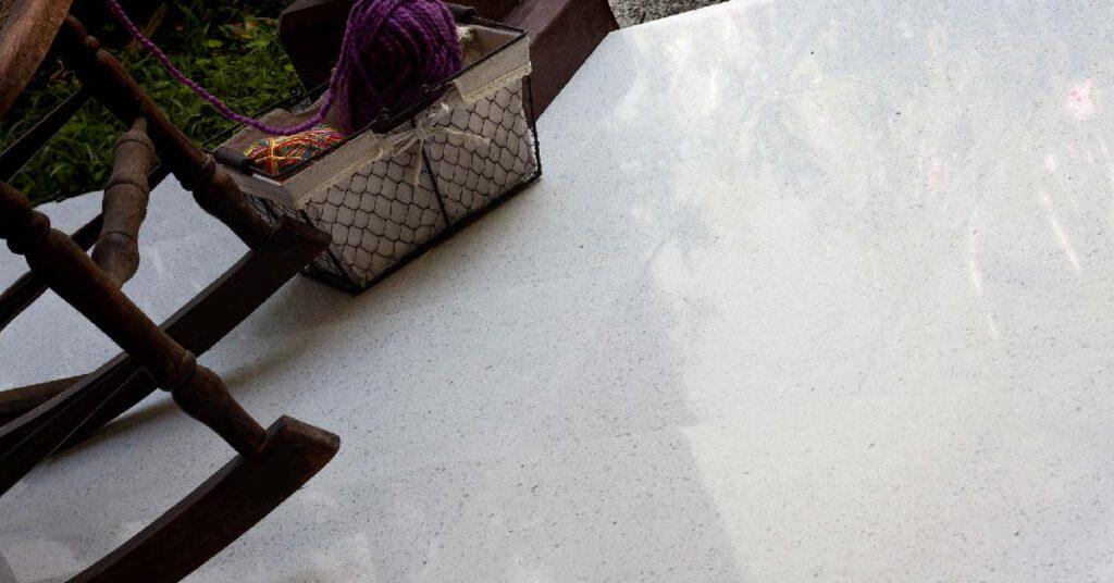 Baldosa de grano terrazo 40x40 cm pulida
