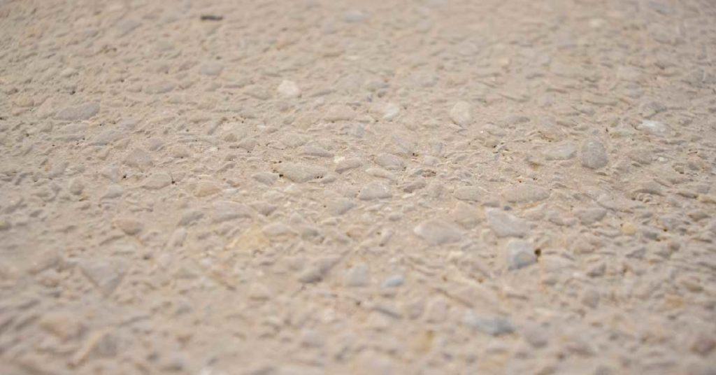 baldosa de grano terrazo cepillada 40x40 cm